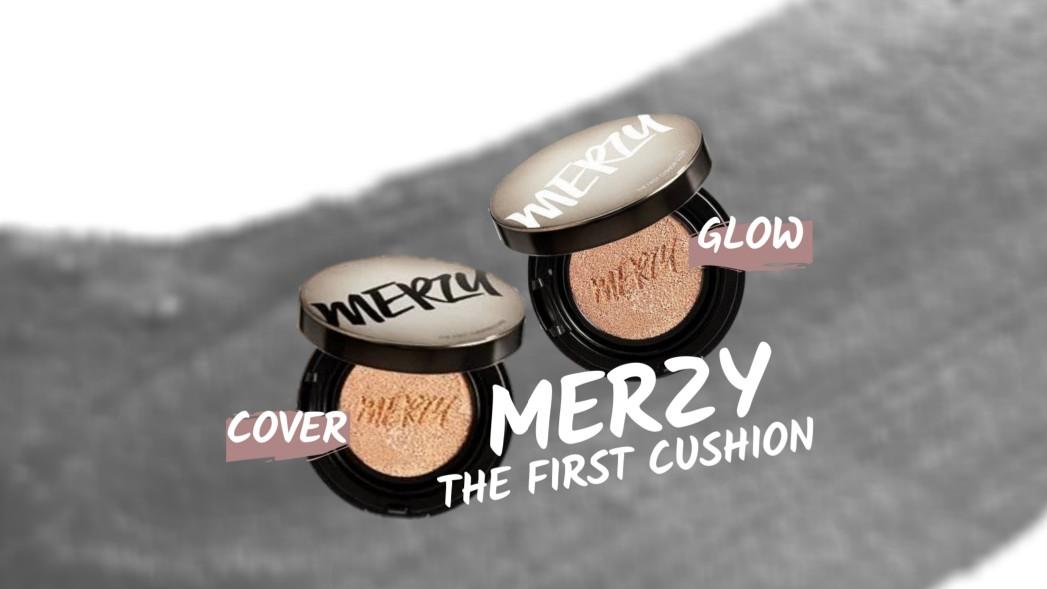【2種比較】MERZY(マージー)のクッションファンデ【カバー&グロウ】